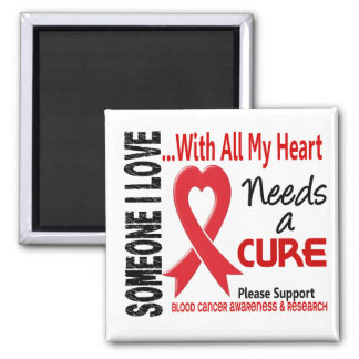 Blood Cancer Needs A Cure 3 Magnet