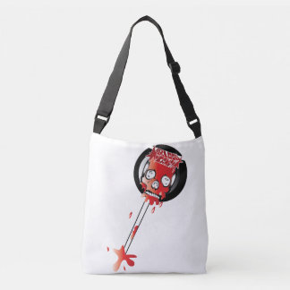 Blood Candy Skull Lollipop Bag