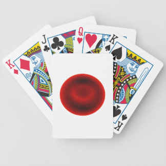 Blood cell bicycle playing cards
