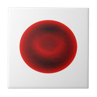 Blood cell ceramic tile