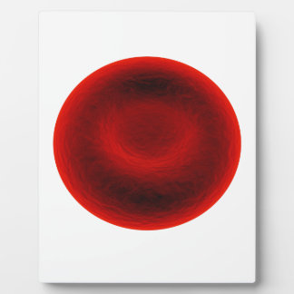 Blood cell plaque