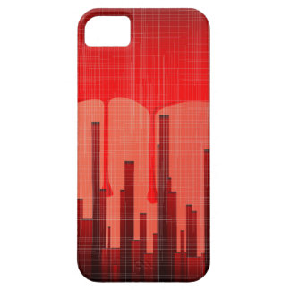 Blood City Grunge iPhone 5 Cases
