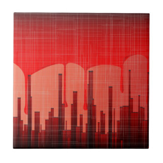 Blood City Grunge Tile