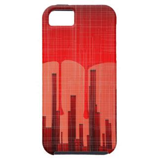 Blood City Grunge Tough iPhone 5 Case