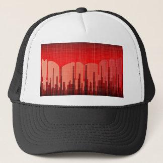 Blood City Grunge Trucker Hat