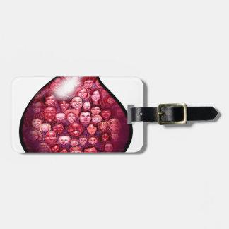 Blood Drop Luggage Tag