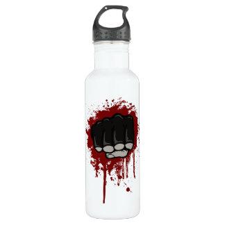Blood fist 710 ml water bottle
