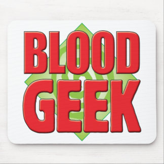 Blood Geek v2 Mouse Mats