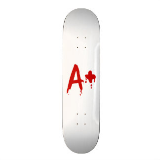 Blood Group A+ Positive #Horror Hospital 21.3 Cm Mini Skateboard Deck