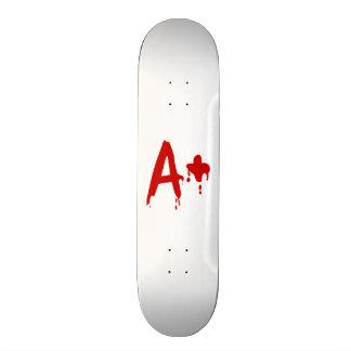 Blood Group A+ Positive #Horror Hospital 21.3 Cm Mini Skateboard Deck