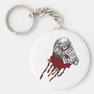 Blood Horror Skull Key Chain