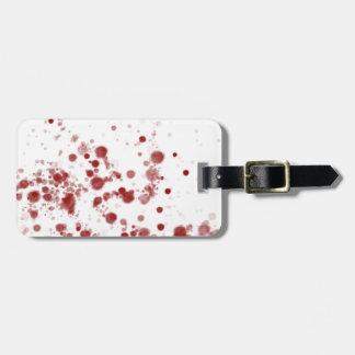 Blood Luggage Tag