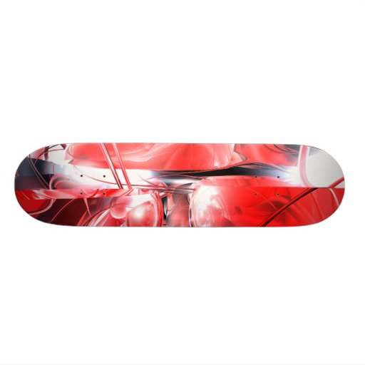 Blood Madness Abstract Skateboard