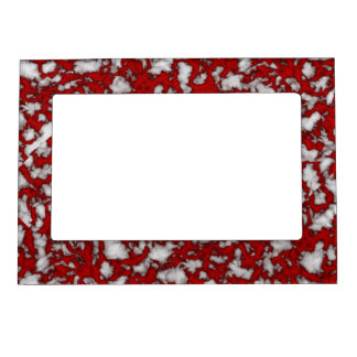 Blood Marble Magnetic Picture Frame