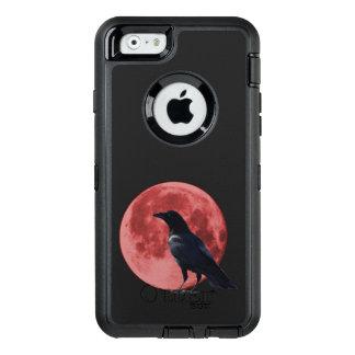 Blood Moon Crow iPhone Defender Case