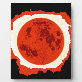 Blood Moon Eclipse Display Plaques