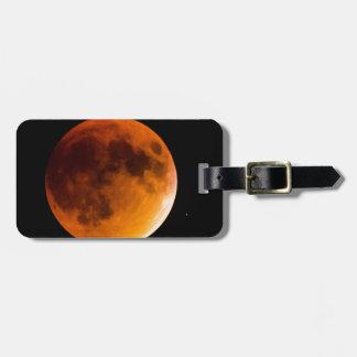 Blood Moon Luggage Tag