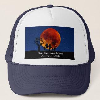 Blood Moon Lunar Eclipse 2018 Trucker Hat