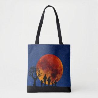 Blood Moon Lunar Eclipse Tote Bag