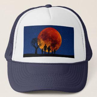 Blood Moon Lunar Eclipse Trucker Hat