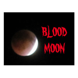 BLOOD MOON POSTCARD