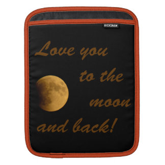 Blood Moon September 27, 2015 iPad Sleeves