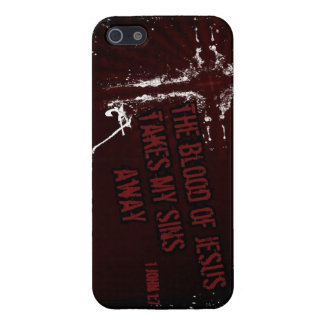 Blood of Jesus takes my sins away iPhone Case Cover For iPhone 5/5S