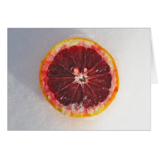 blood orange card