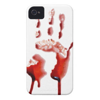 Blood print iPhone 4 cover