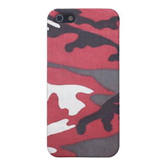 Blood Red Camo iPhone 4 Case