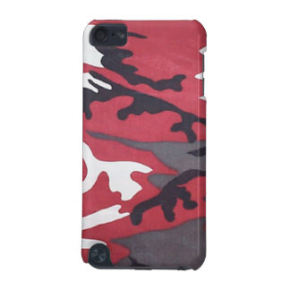 Blood Red Camo iPod Touch Case