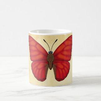 Blood Red Glider Butterfly Coffee Mug