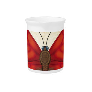 Blood Red Glider Butterfly Pitcher