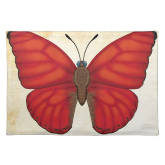 Blood Red Glider Butterfly Placemat