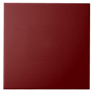 Blood Red Large Square Tile