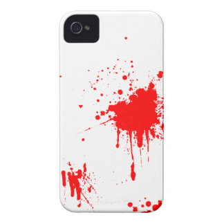 Blood/Red Paint Splatter iPhone 4S iPhone 4 Covers