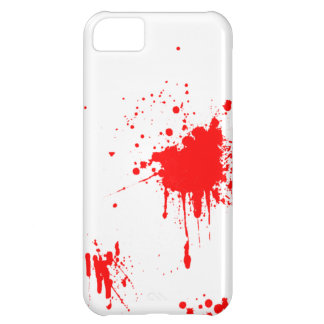 Blood/Red Paint Splatter iPhone 5S iPhone 5C Case