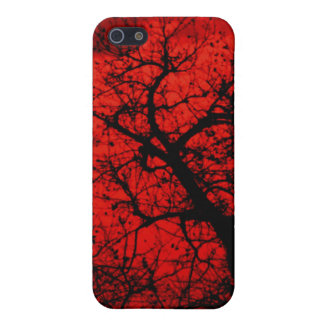 blood red sky iPhone 5/5S case