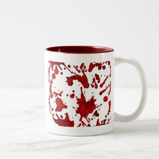 blood splatter coffee mugs - photo #6