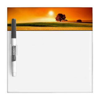 Blood-Red Sunset Dry-Erase Boards