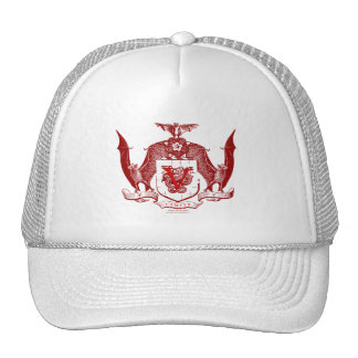 Blood Red Vampyr Crest Cap