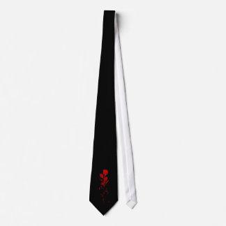 Blood Rose Tie