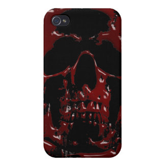 Blood Skull Case For The iPhone 4