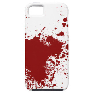 Blood Splash iPhone 5 Cover