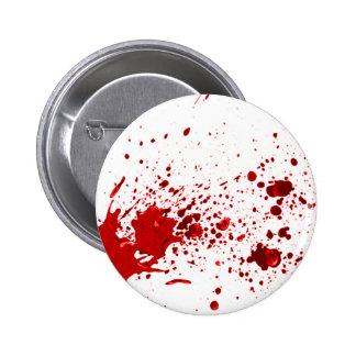 blood splatter 1 6 cm round badge