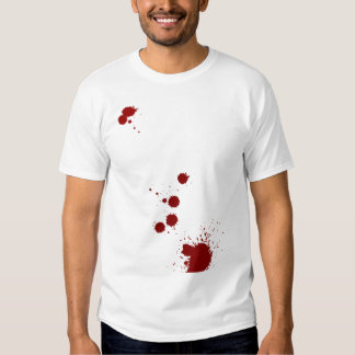 Blood Splatter Analyst Tee Shirts