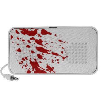 Blood Splatter Doodle Speaker