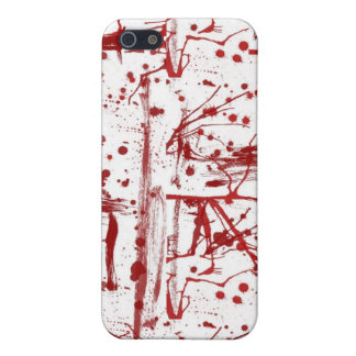 blood splatter iphone cover cover for iPhone 5/5S