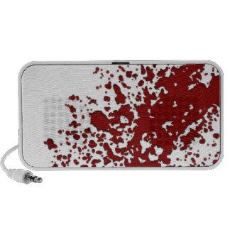 Blood Splatter Mini Speakers