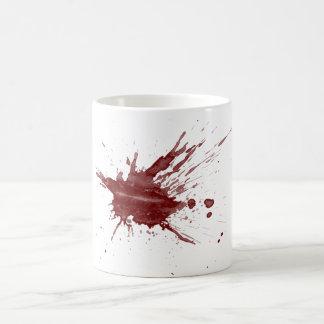 """Blood Splatter"" Basic White Mug"